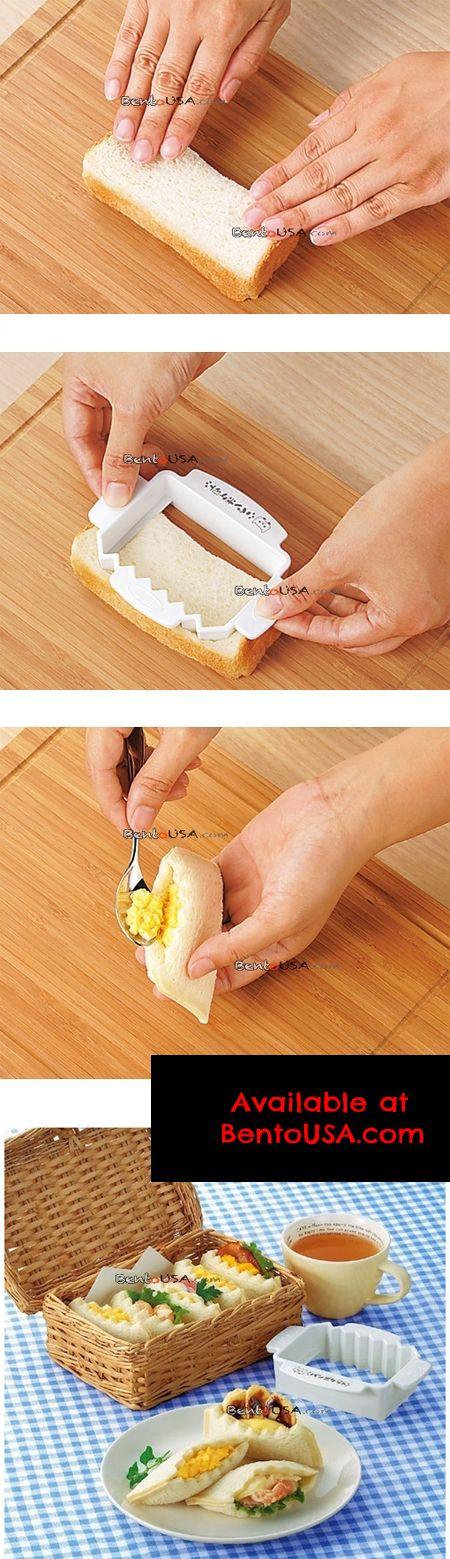 half pocket sandwich with yummy filling