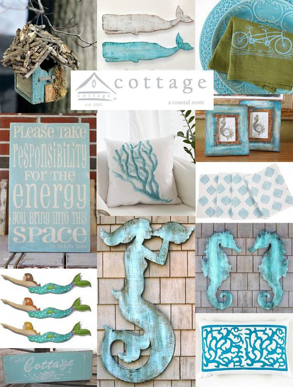House of Turquoise made a beautiful collage of our items...fun to see!