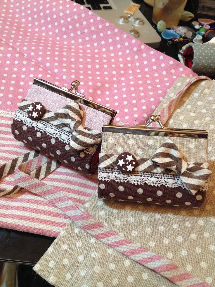 Handmade money bags ❤️ funnyfimo.altervista.org