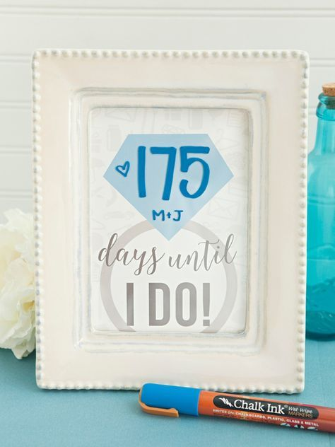 adorable wedding countdown sign ever free wedding diy wedding wedding ...