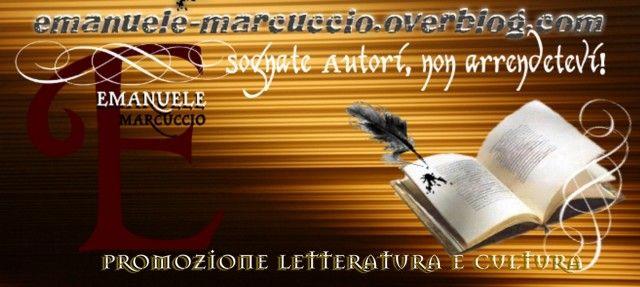 """Ecco il logo di Promozione Letteratura e Cultura, realizzato oggi dalla gentilissima poetessa e scrittrice Gioia Lomasti. Il motto, """"Sognate Autori, non arrendetevi!"""" è sintesi di una mia poesia: """"Il viaggio"""", che ho dedicato a tutti gli amici autori. http://emanuele-marcuccio.overblog.com/perche-iscriversi-e-votare-questo-blog-5"""