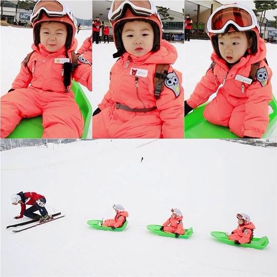 Daehan, Minguk, Manse! Triplet boys so cute! Return of Superman show