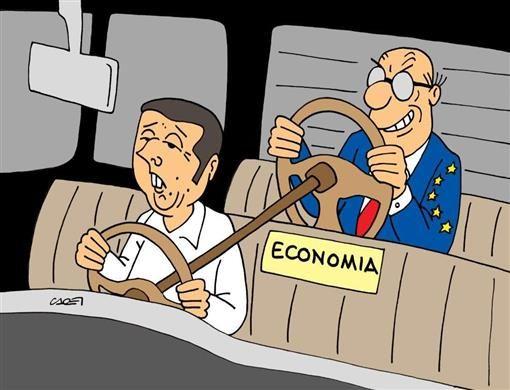 Ecco come funzione la nostra economia in Europa.