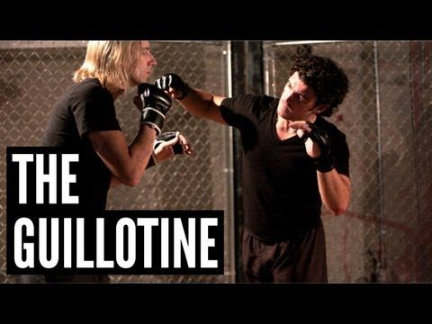 "The Guillotine | Andrew ""Squid"" Montañez | mmasurge.com #mma"