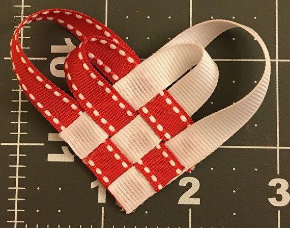 Valentine's Day Heart Hair Clip di CraftyCreationsByKG su Etsy