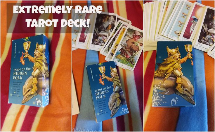 """TAROT OF THE HIDDEN FOLK, Lo Scarabeo ~ 2002 ULTRA RARE Out of Print Tarot Cards. For Sale on Ebay """"Qtpie Collectibles"""". #forsale #tarot #cards #ebay #selling"""