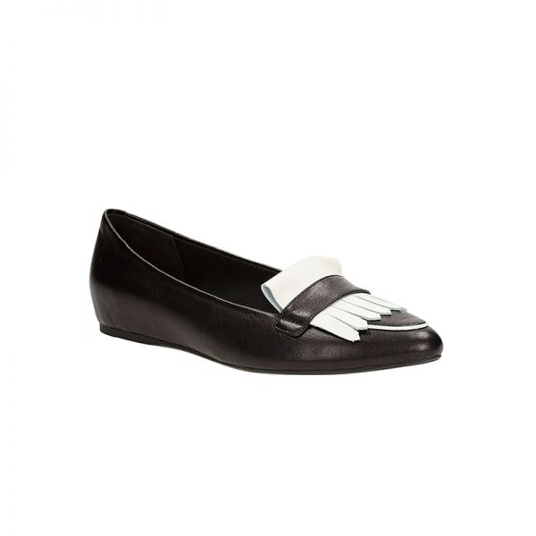 Coral Reef by# Clarks White & Black leather xigoros.com