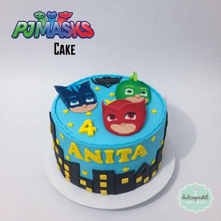 Torta PJ Masks Cake by Giovanna Carrillo