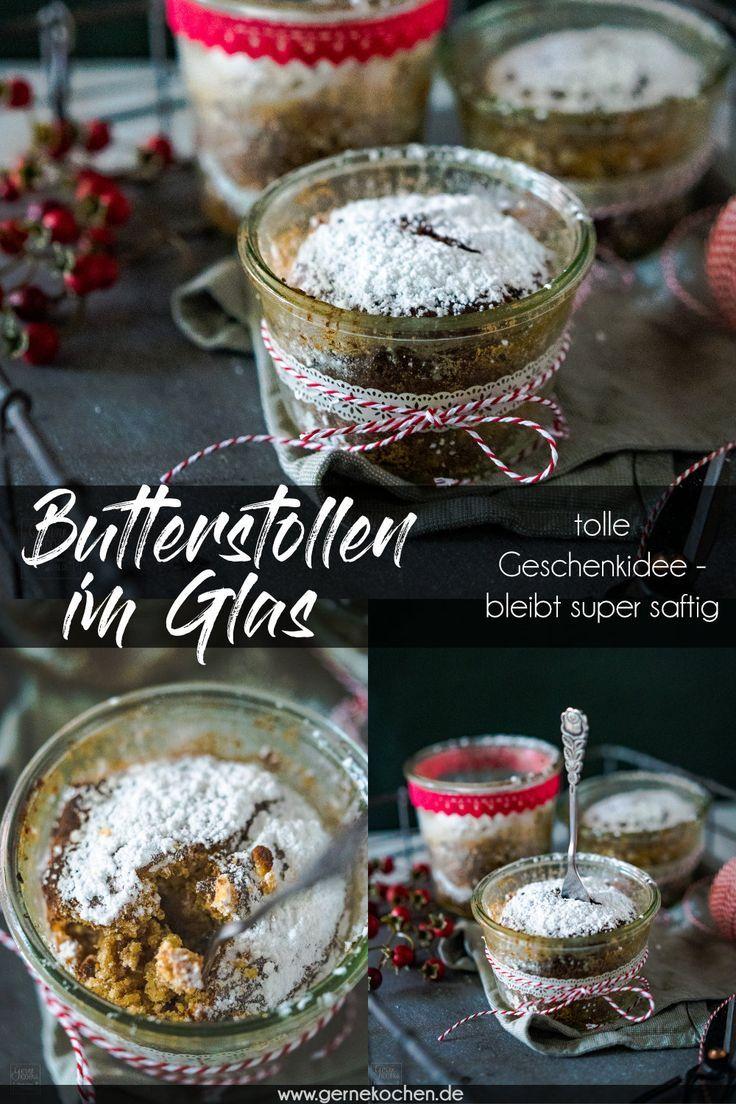 Butterstollen Im Glas Tolle Geschenkidee Rezept Von Gernekochen De Rezept Diy Geschenke Aus Der Kuche Geschenkideen Weihnachtsrezepte