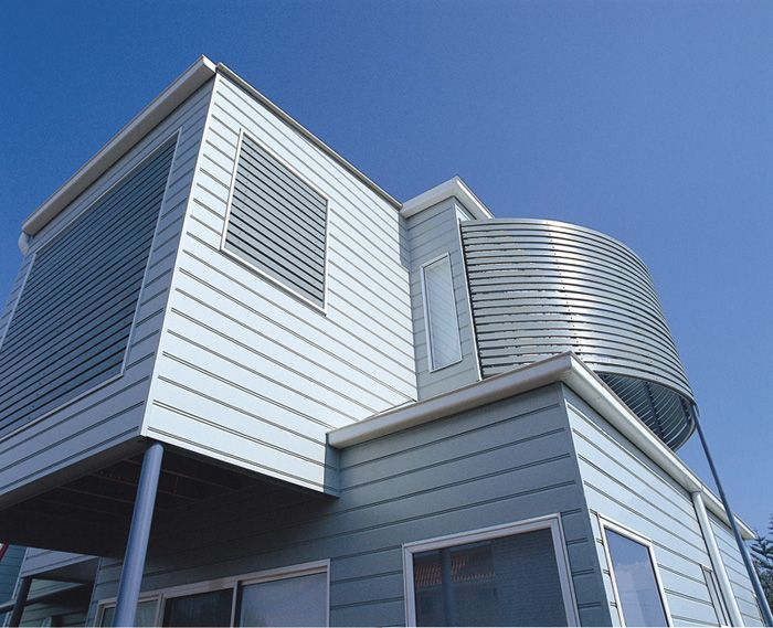 Weathertex has a range of weatherboards exterior wall