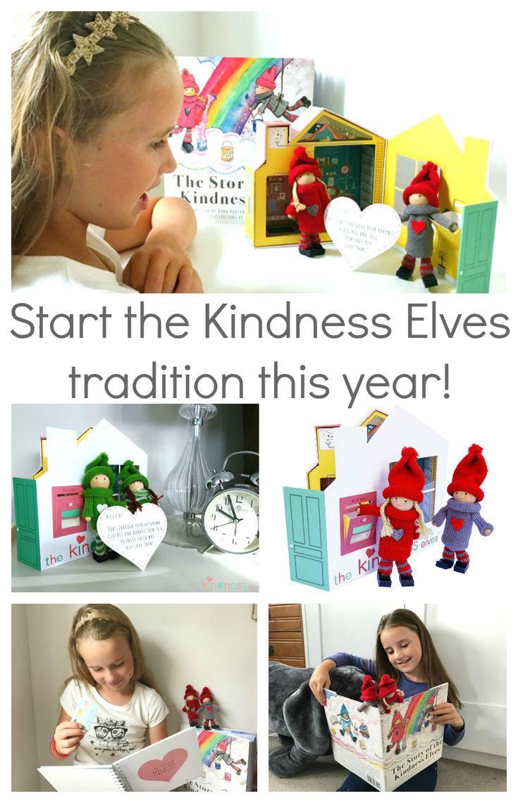 Goodbye Elf on the Shelf! Hello adorable Kindness Elves tradition!