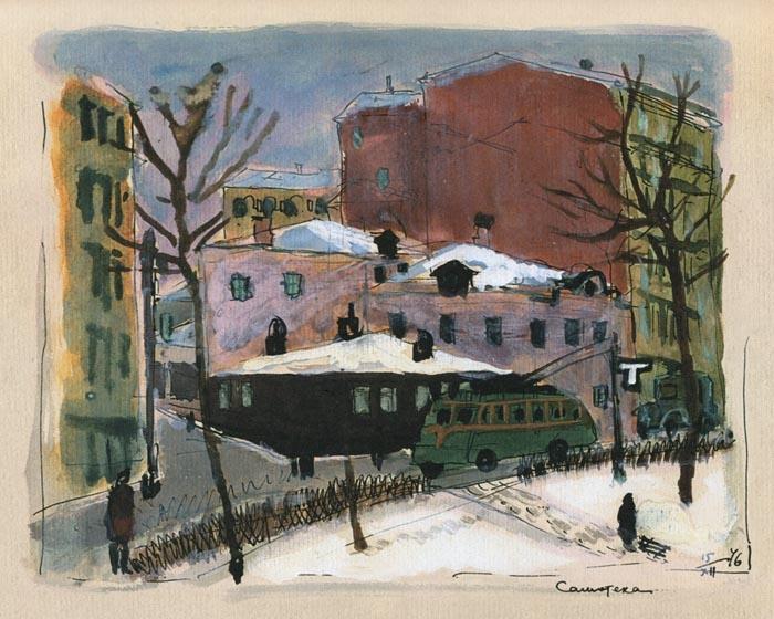 Татьяна Алексеевна Маврина (1902-1996 гг). Москва.