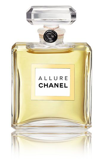 ALLURE by Chanel. Clean and sheer, warm and sexy. Difficult to define; impossible to resist.