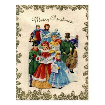 26 best Vintage Christmas Carolers images on Pinterest | Christmas ...