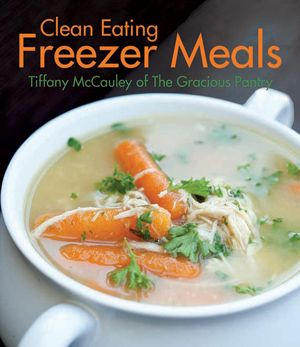 This warm and wonderful Clean Eating Minestrone Soup Recipe will soothe your tummy while it nourishes your body. Enjoy more at TheGraciousPantry.com.
