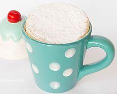Torta al microonde in tazza | Versione torta margherita