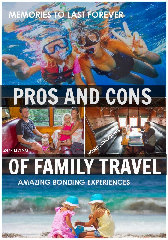 Pros & Cons of Traveling with Kids