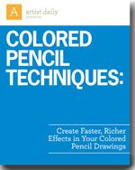Colored pencil techniques from Artist Daily