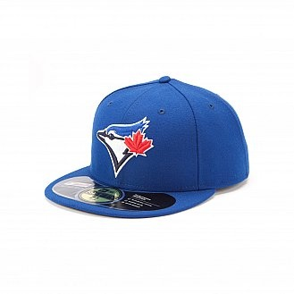 Toronto Blue Jays Authentic On Field Game 59FIFTY: Logo, Blue Jay