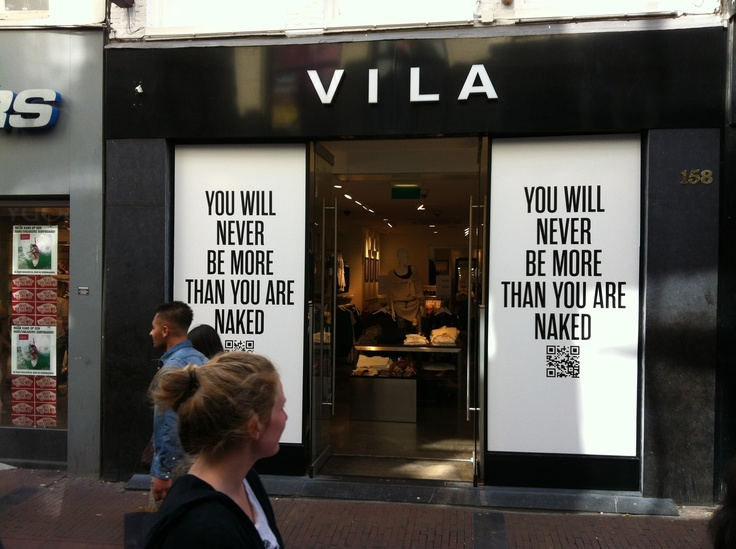 Maak een statement @Vila Amsterdam