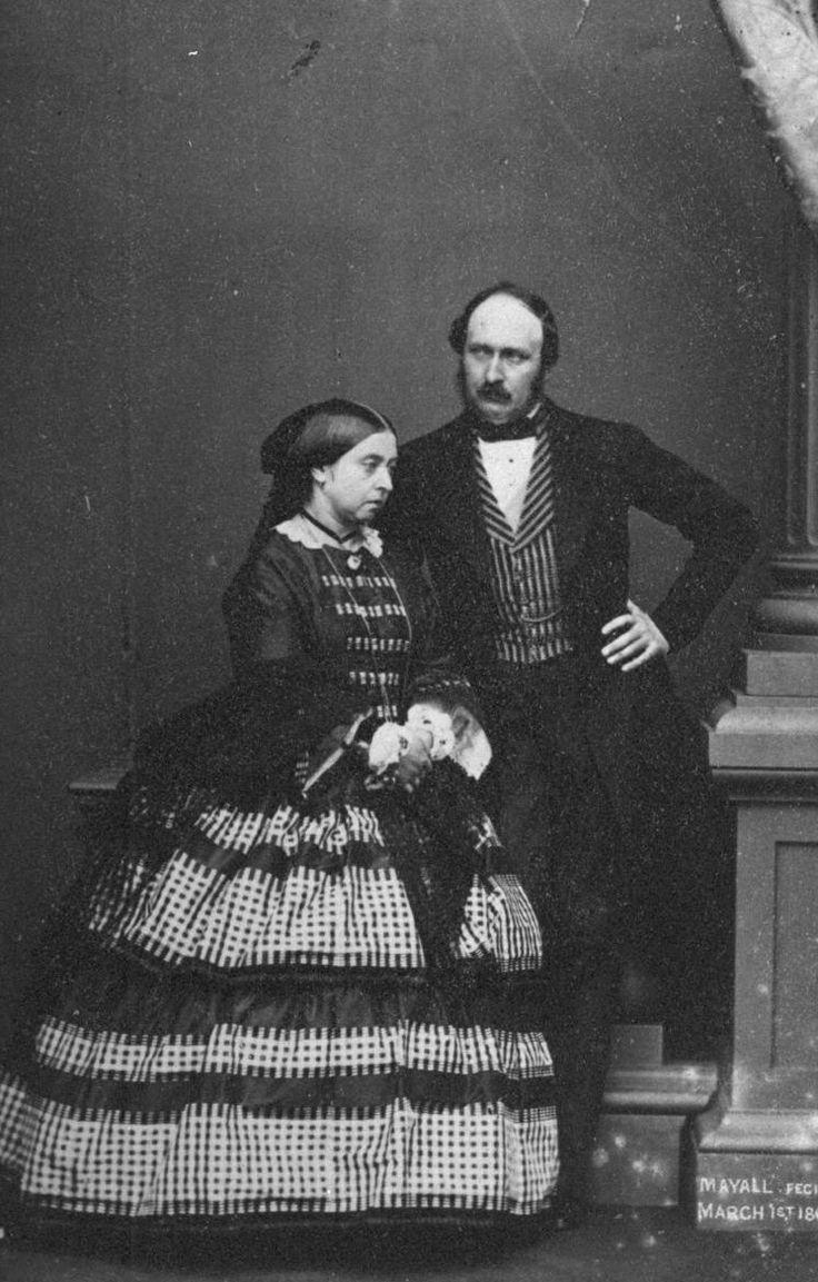 Queen Victoria with Prince Albert