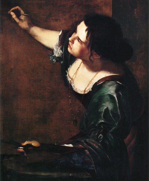 Артемизия Джентилески (итал. Artemisia Gentileschi, Artemisia Lomi, 8 июля 1593, Рим — ок. 1653, Неаполь) — итальянская художница. Автопортрет в образе аллегории, 1639 г.