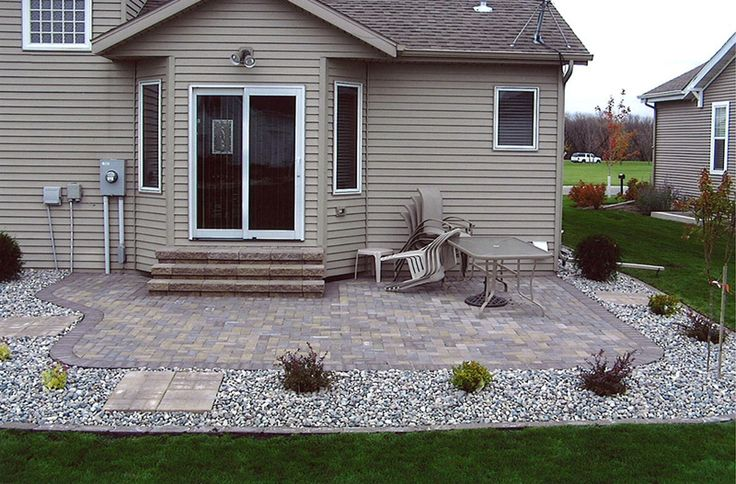 Ground-level-Patio-and-Stairs   Deck designs backyard ... on Ground Level Patio Ideas id=47260
