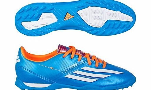 Adidas F10 TRX Astroturf Trainers - Kids Blue adidas F10 TRX Astroturf Trainers - Kids Blue Let him learn the true meaning of fast with these boys AstroTurf football shoes. Featuring a lightweight and durable synthetic upper, a soft EVA insole an http://www.comparestoreprices.co.uk/football-equipment/adidas-f10-trx-astroturf-trainers--kids-blue.asp