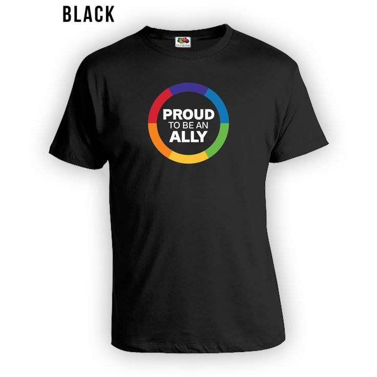 Proud to be an Ally Shirt for Gay Pride Month - Gay Pride Ally t-Shirt, Gay Pride Clothing, Gay Pride, Mens Womens Shirts Lgbt shirts CT-430 by LifeStyleTees on Etsy https://www.etsy.com/listing/385495640/proud-to-be-an-ally-shirt-for-gay-pride