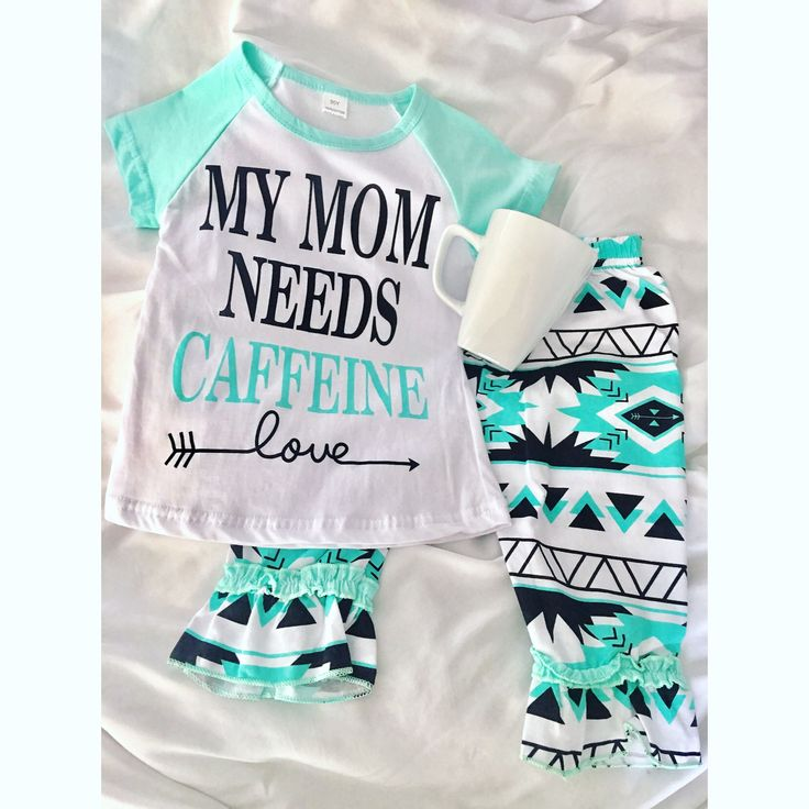 Look what we just got in!  These are shipped to us in about 16 days. Super adorable! MY MOM NEEDS CAFFEINE ☕️ $20 Sizes available: 1/2t, 2/3t, 3/4t, 4/5y, 5/6y We can't handle the cuteness.  Text (479)616-2942 to order Or comment below!  #thepinkpeonyboutique #coffee #caffeine #mymomneedscaffeine #fashion #ootd
