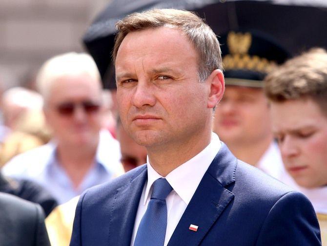Andrzej Duda (fot. LUKASZ WIESZALA / Newspix.pl )