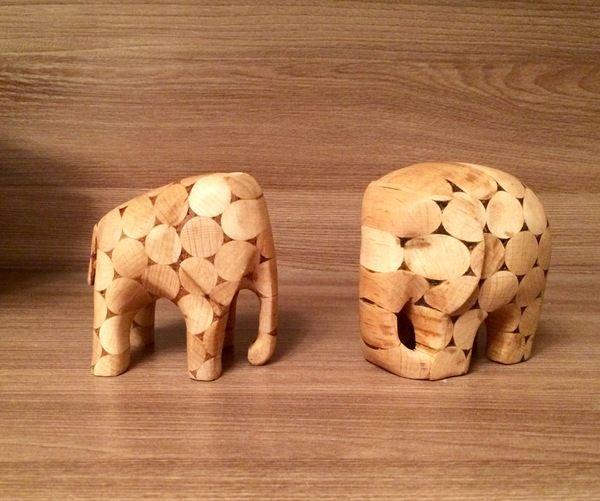 Деревянные слоны резьба по дереву, дерево, слоны, бормашина, бук