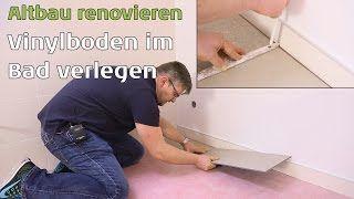 Vinylboden selber verlegen 5mm Klick: Parkett-Wohnwelt sagt wie - YouTube