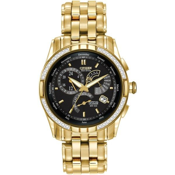 Citizen Men's BL8042-54E Eco-Drive Caliber 8700 Watch ($563) ❤ liked on Polyvore featuring men's fashion, men's jewelry, men's watches, black, mens diamond bezel watches, mens watches jewelry, citizen eco drive mens watches, mens stainless steel watches and large dial mens watches