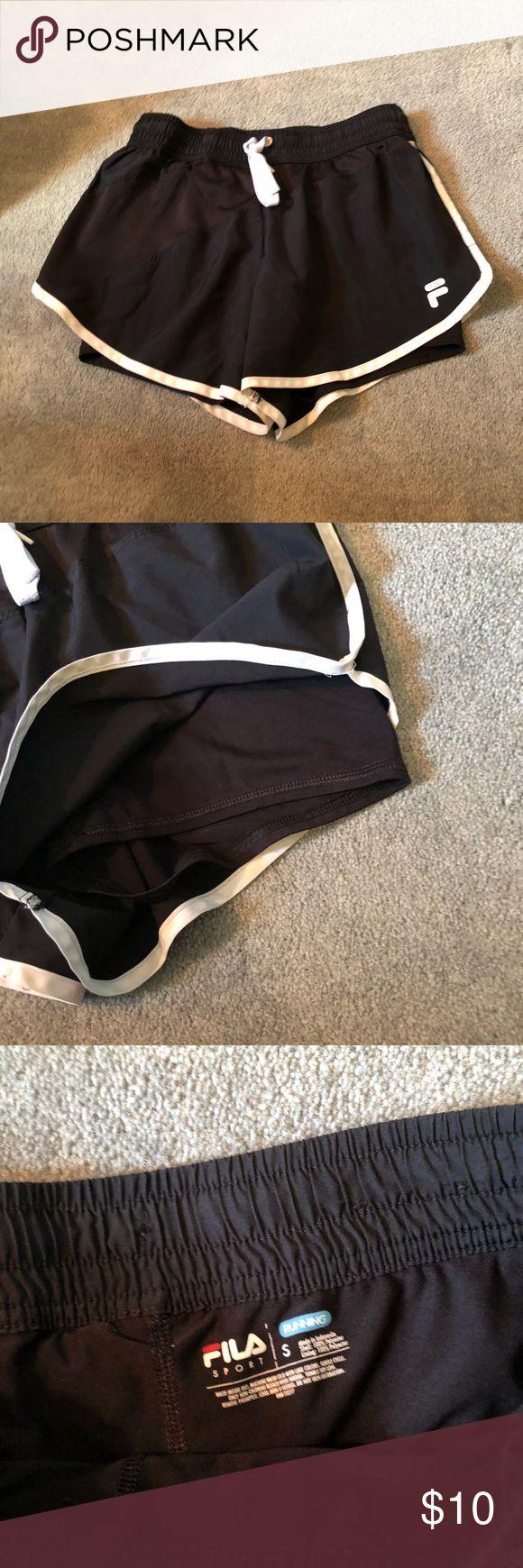 Fila Athletic Shorts Gym shorts with inside spandex  shorts Fila Shorts