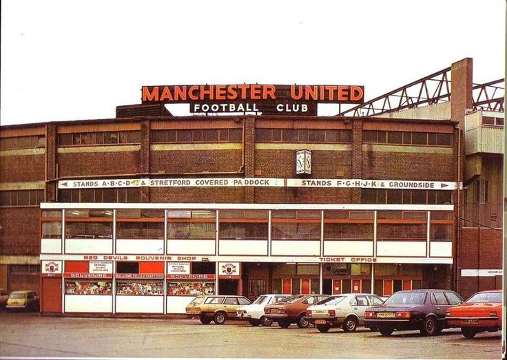 Old Trafford some years ago.