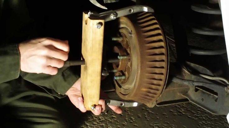 Stuck Brake Drums - Removal