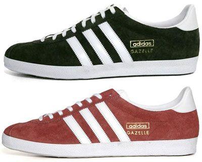 I love the Adidas OG Gazelle Trainers