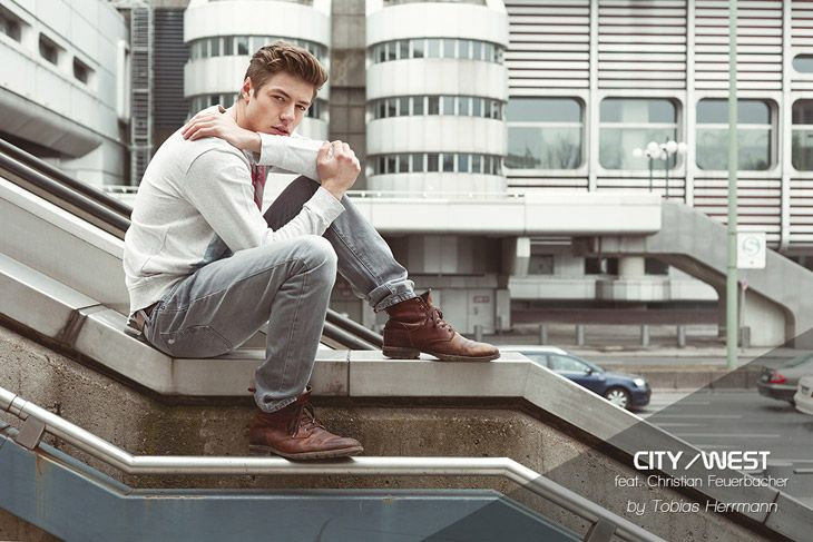 City/West feat. Christian Feuerbacher by Tobias Herrmann for Male Model Scene #fashionphotography #fashion
