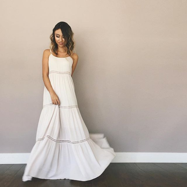 Pin for Later: 17 Summer Outfits That'll Never Go Out of Style A Maxi Dress