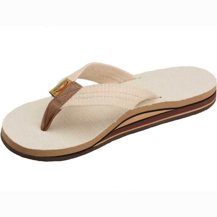 Rainbow Hemp Double Arch Sandal for Women