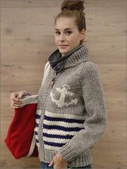 anchor Cowichan sweater
