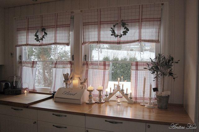 Best 20 scandinavian window treatments ideas on pinterest white farmhouse kitchens farmhouse - French country kitchen window treatments ...