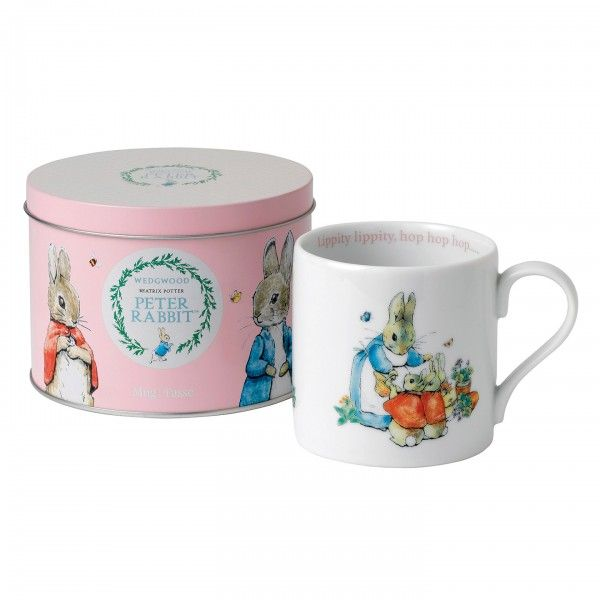 Peter Rabbit: 'Flopsy, Mopsy and Cotton-tail' Mug in Tin