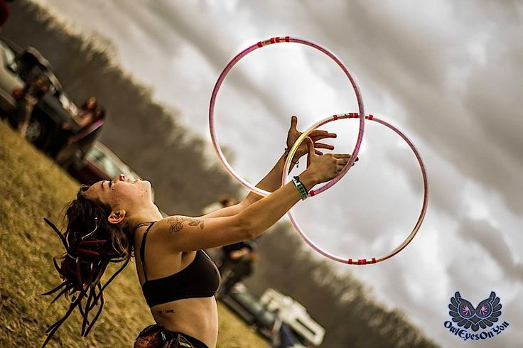 Twin Hooping at Hoopla In the Hills Hooping, Dance tips