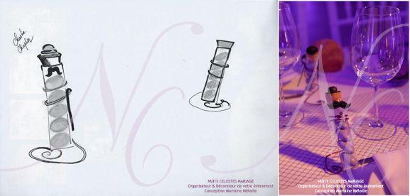Décor réalisé par : Nuits Célestes Mariage Wedding Planner & Décorateur Paris Bordeaux et Périgueux  #decoration #decorateur #weddingplanner #nuitscelestes #bordeaux #paris #perigueux #mariage #wedding #createurdefeerie #inspiration #illumination #salledesfetes #organisateur #marrainemelodie #cinema #bougies #pompom #prune #voilage #train #mariagetrain #fun #miseenlumieres