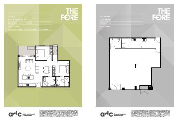 In Full View >> The Fore Apartments