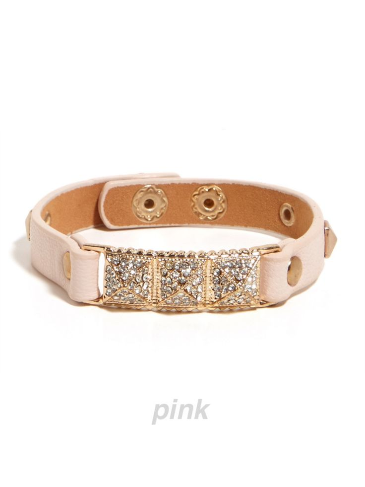 wear our Sparkle Stud Wrap alone or stacked in other colors for a great look either way!
