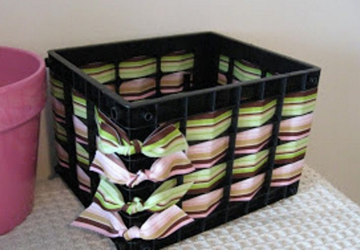 Get ready to look at plastic milk crates in an entirely new light.