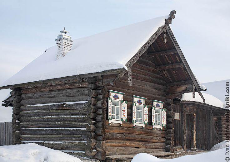 Русская традиционная деревянная изба